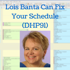 Lois Banta Can Fix Your Schedule (DHP91)