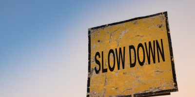 To speed up, first slow down